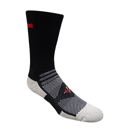 Red Line Crew Sock-Covert Threads-A Military Sock For Every Clime & Place