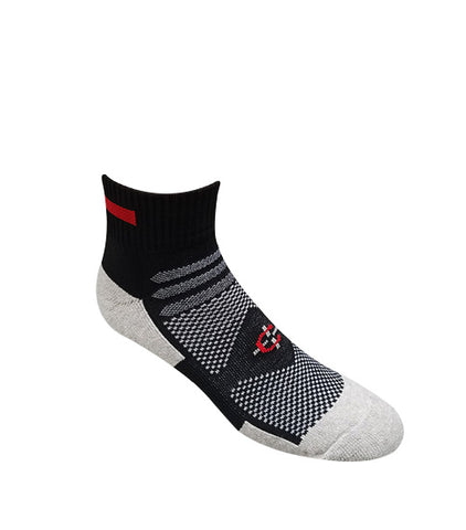 Red Line Quarter Sock-Covert Threads-A Military Sock For Every Clime & Place