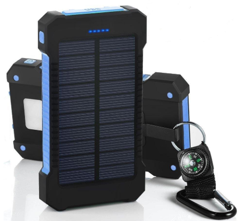 Solar Power Charger Trend Ninja Blue