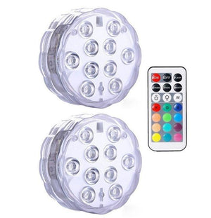 Submersible LED Lights Optimumtrends 2 lamp 1 controller