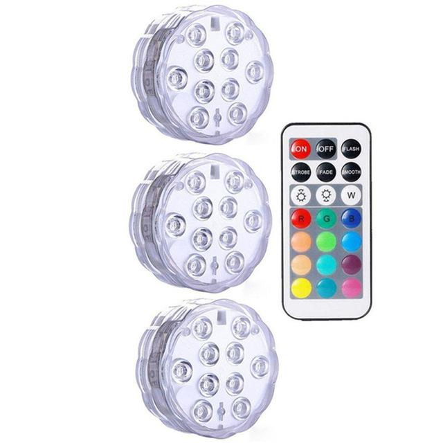 Submersible LED Lights Optimumtrends 3 lamp 1 controller