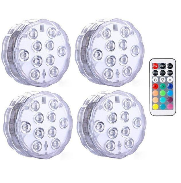 Submersible LED Lights Optimumtrends 4 lamp 1 controller