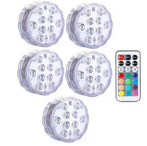 Submersible LED Lights Optimumtrends 5 lamp 1 controller