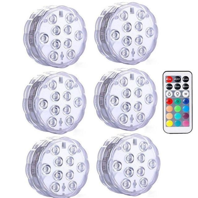 Submersible LED Lights Optimumtrends 6 lamp 1 controller