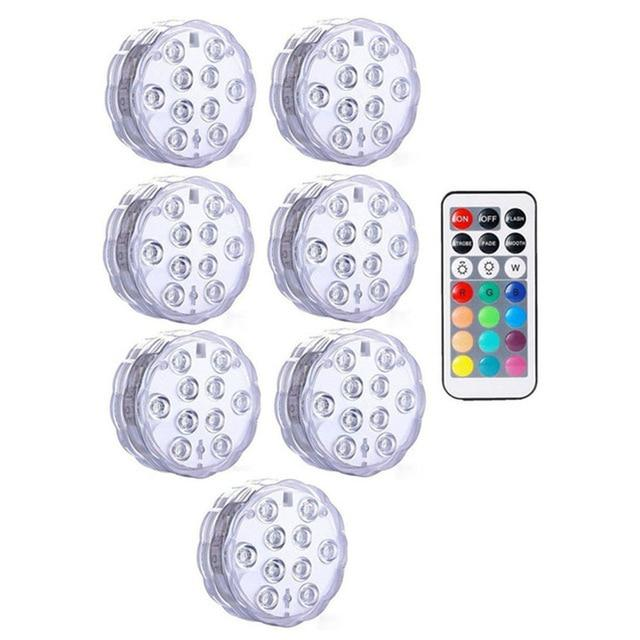 Submersible LED Lights Optimumtrends 7 lamp 1 controller