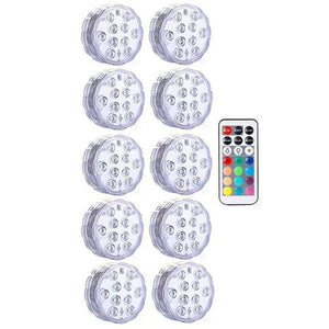 Submersible LED Lights Optimumtrends 10 lamp 1 controller