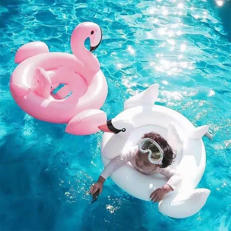 Inflatable Flamingo for Babies Trend Ninja