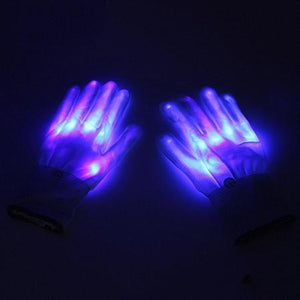 LED Rave Glove Trend Ninja Purple