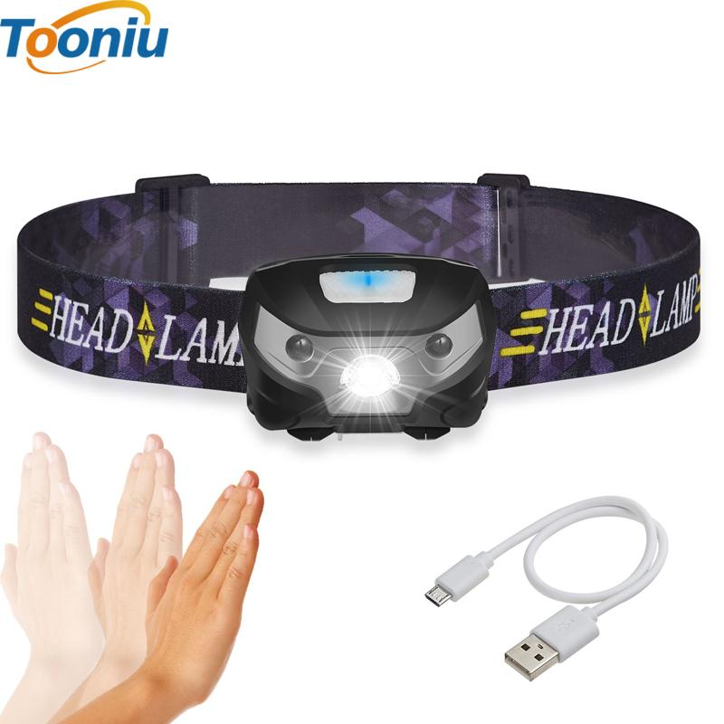 Rechargeable LED HeadLamp Optimumtrends