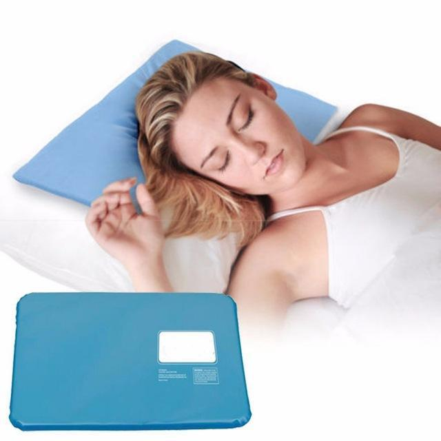Cooling Pillow Virtual Fads Blue