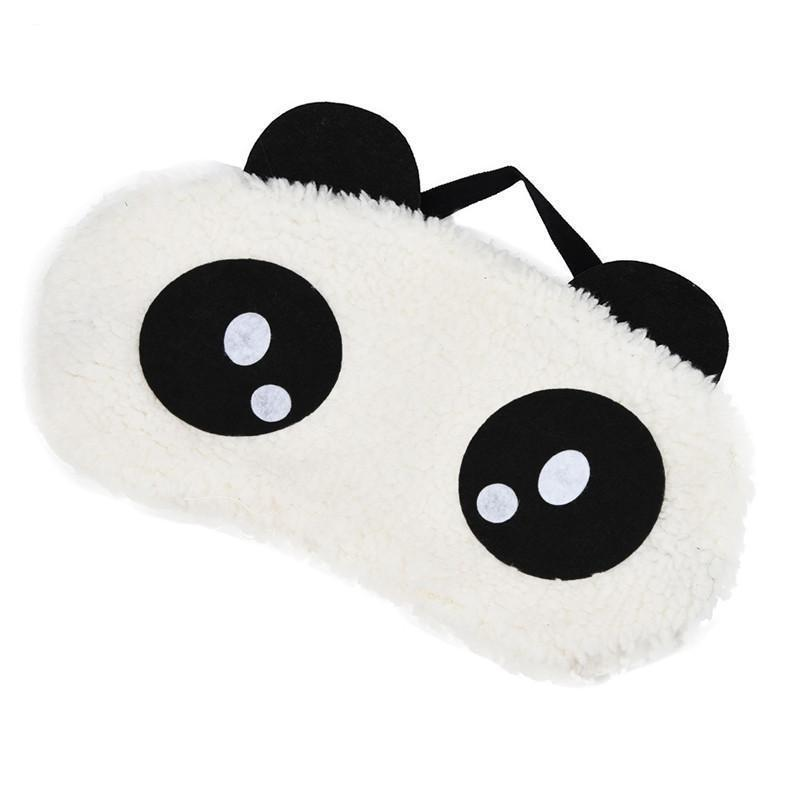 White Panda Eye Sleep Mask Trend Ninja Googly Eyes