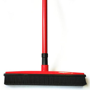 Rubber Broom Bristles Sweeper/Squeegee Optimumtrends red