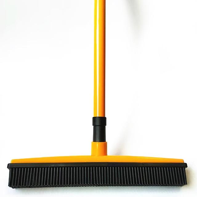 Rubber Broom Bristles Sweeper/Squeegee Optimumtrends yellow