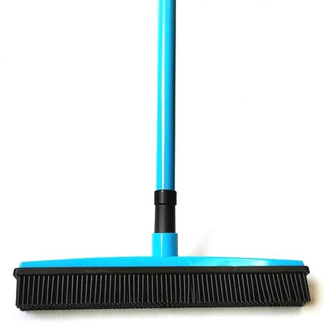 Rubber Broom Bristles Sweeper/Squeegee Optimumtrends blue