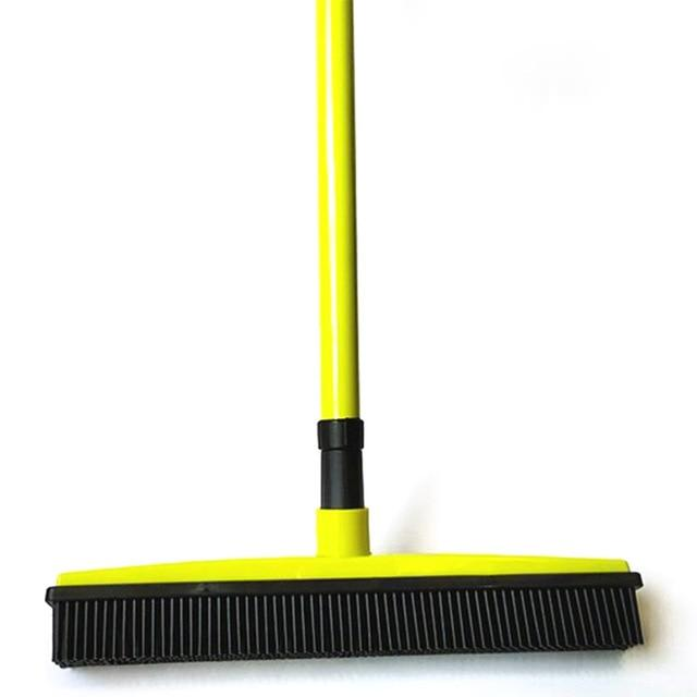 Rubber Broom Bristles Sweeper/Squeegee Optimumtrends green