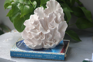 Small  faux Wave coral sculpture .
