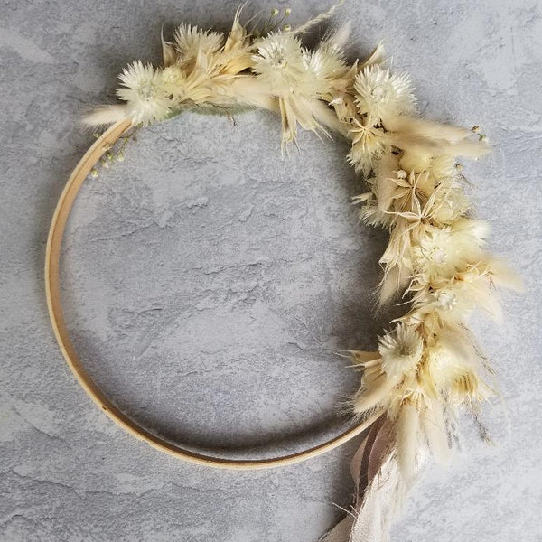 Dried Botanicals Wreath Ethereal