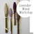 Workshop - Lavender Wand July 12th