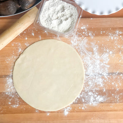 Pie Dough Rolled Out