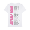 MYSELF TOUR T-SHIRT