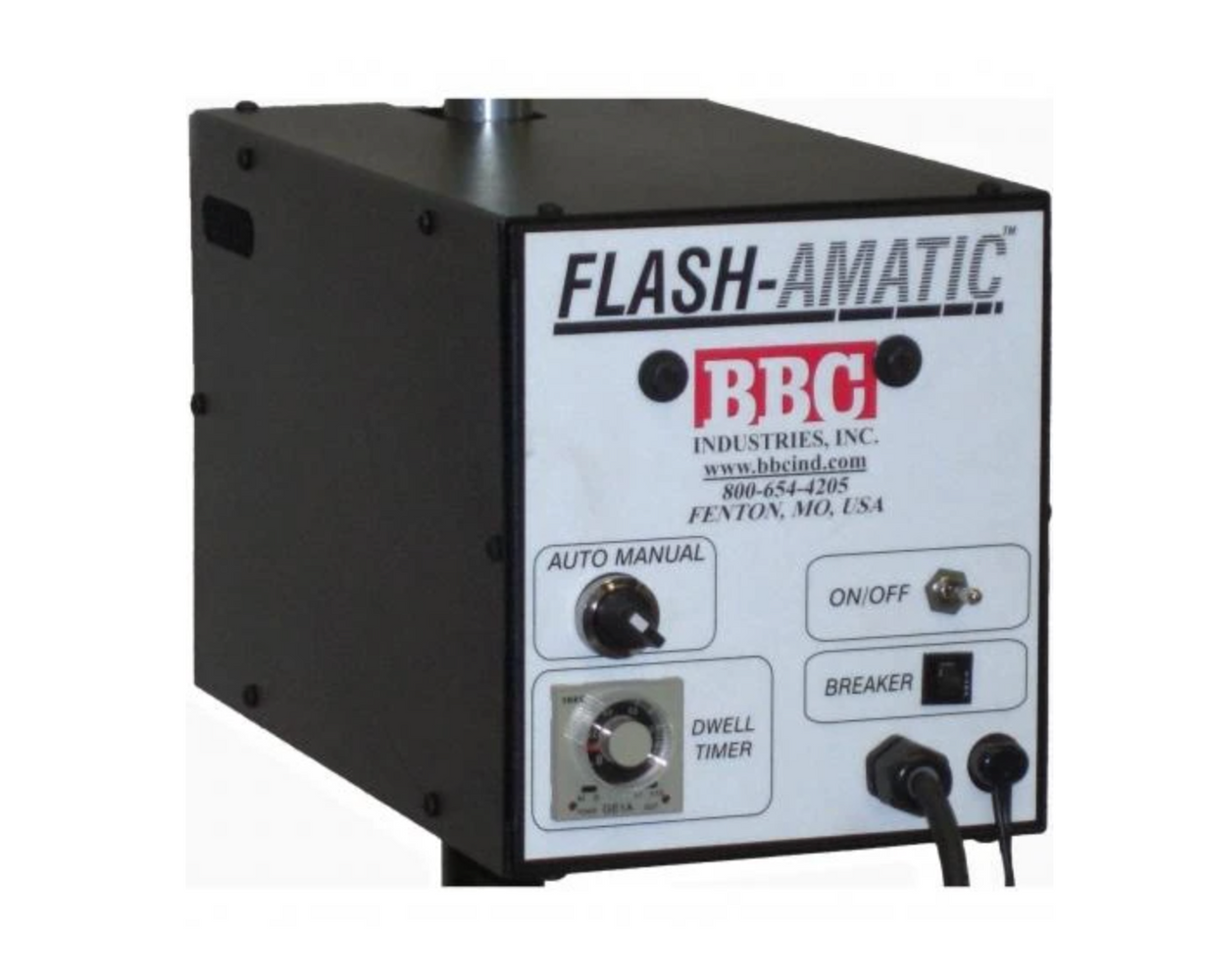 BBC FLASH-AMATIC AUTO ROTATING FLASH DRYER WITH FOOT PEDAL