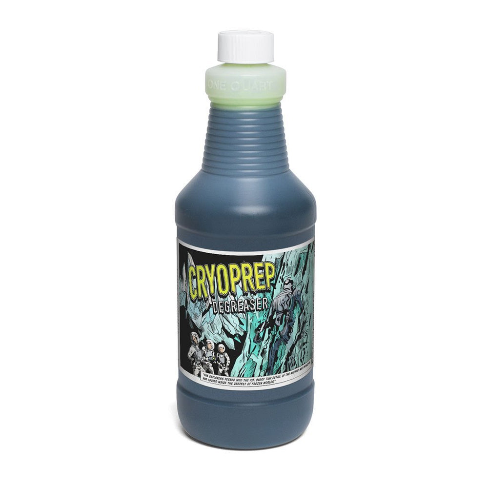 Green Galaxy CryoPrep Screen Degreaser - Quart | ScreenPrinting.com