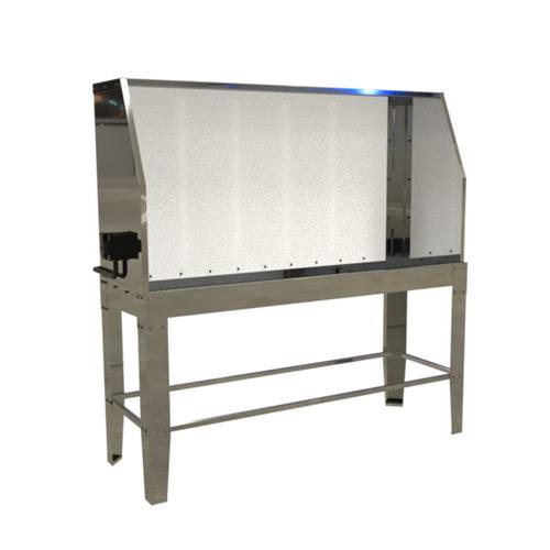 Ryonet Wash Pit Backlit Washout Booth