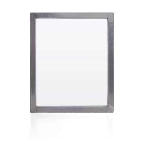 "Aluminum Screen with 110/64 White Mesh - 20 X 24"" OD (1"" X 1.5"" X .062) w/ Tape and Screen Boss"