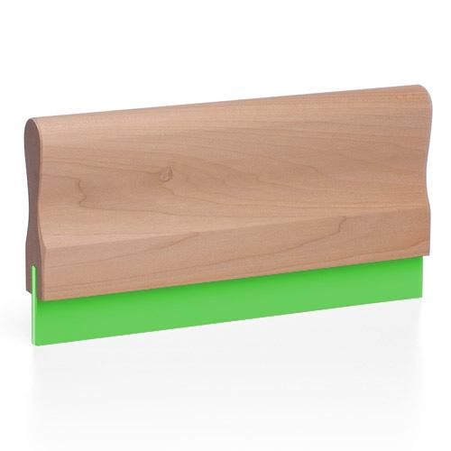 Wood Screen Printing Squeegee (by the inch) - 70 Durometer