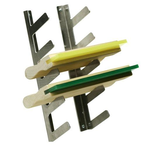 Screen Printing Squeegee Rack