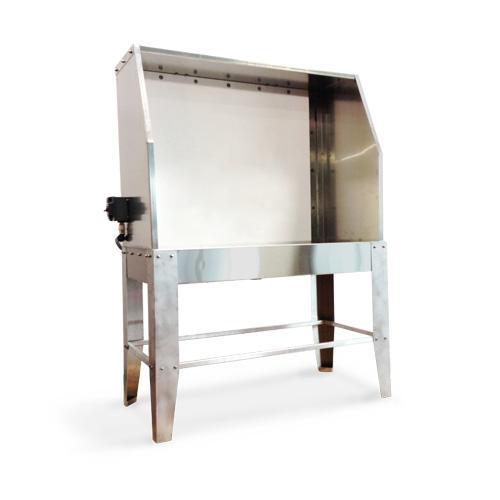 "Ryonet 48"" Wash Pit Backlit Washout Booth"