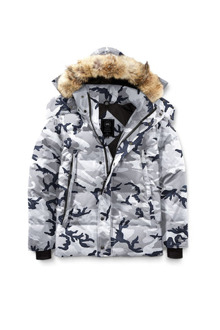 WYNDHAM PARKA  BLACK LABEL - Grey camo