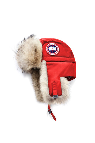 AVIATOR HAT - Red