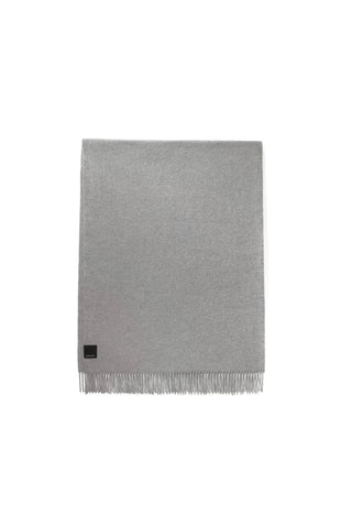 SOLID WOVEN SCARF - Heather Grey