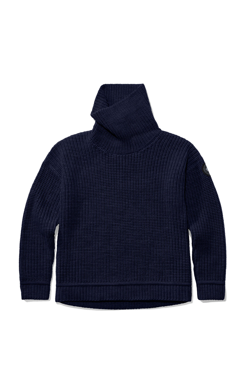 Williston knit Sweater -Navy