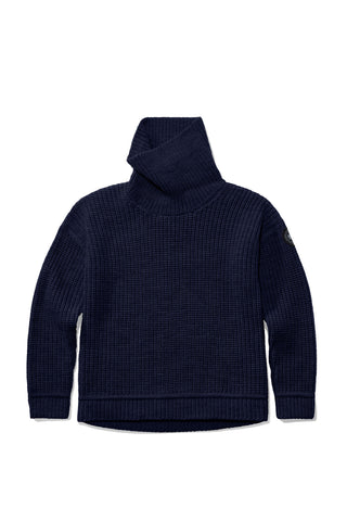 WILLISTON KNIT SWEATER  - Navy
