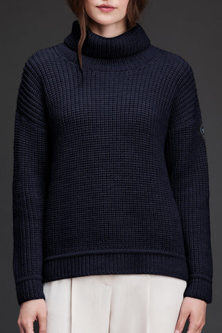 Ladies Williston Sweater -Navy