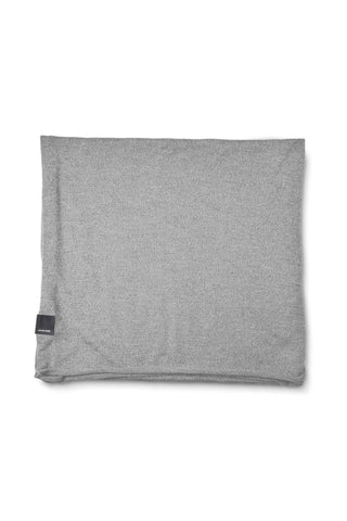 KNIT JERSEY SCARF - Heather Grey