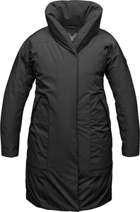 ALANA COCCON LADIES COAT-Black