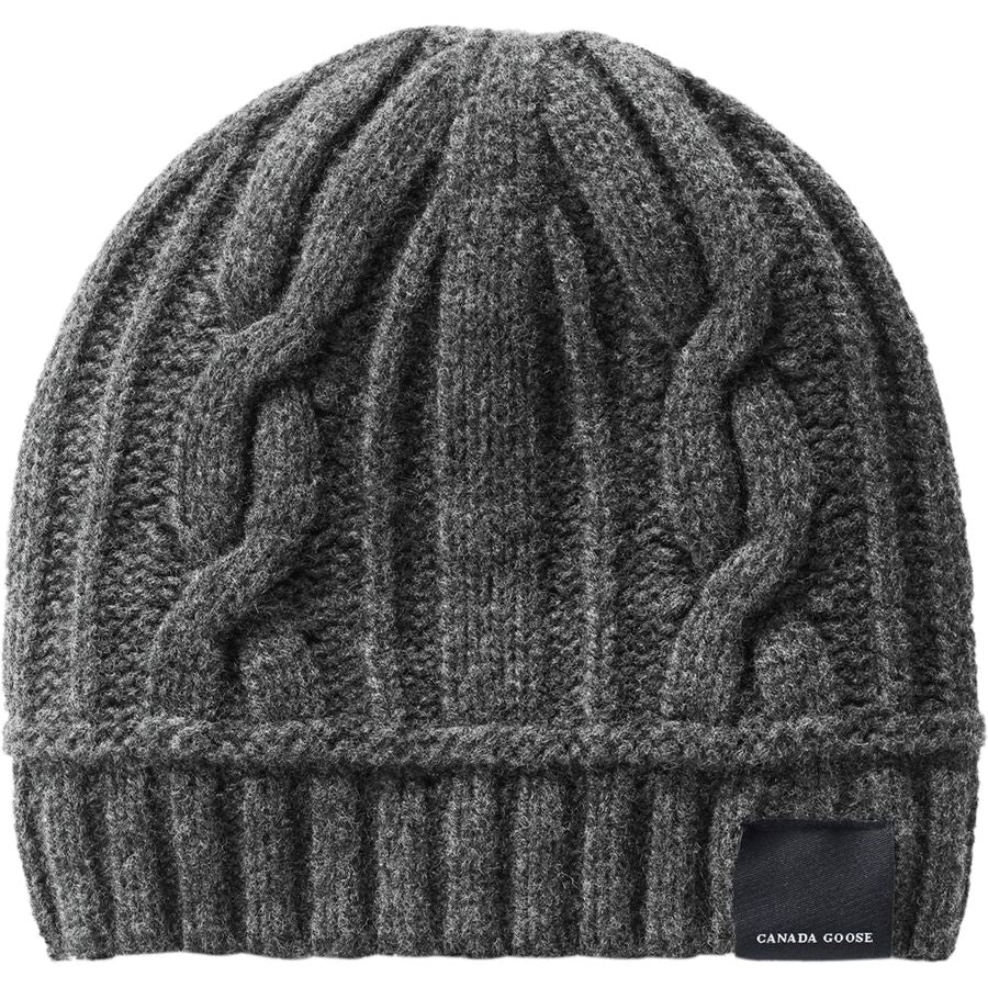 Tuque Torsadée- Ladies Cable Toque/ Iron gray- Gris de fer