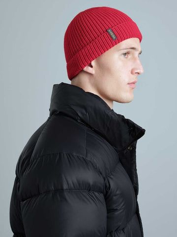 WOOL unisex tuque/beanie - Rouge/Red