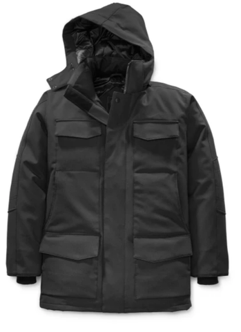 WINDERMERE Coat LT Black Label/  Noir- Black