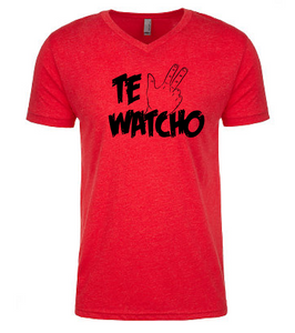 Te Watcho: V-Neck Unisex Tee