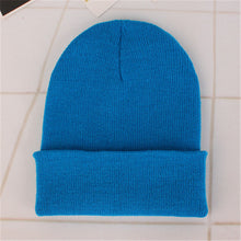 Load image into Gallery viewer, 2018 Spring Beanies Woolen Cap Men Winter Hat For Women Solid Skullies Hip Hop Hats Autumn Casual Unisex Knit Beanie Warm Caps