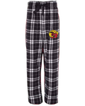 CT Rams - Adult Plaid Flannel Pant