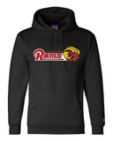 CT Rams - Champion Double Dry Eco Hoodie (Youth & Adult)