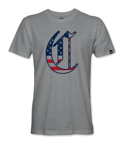 "The Clubhouse Custom - Youth & Adult - The ""C"" Flag Fill - Performance T"