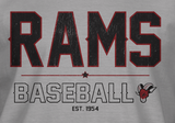 M's Casual T - Rams Old School
