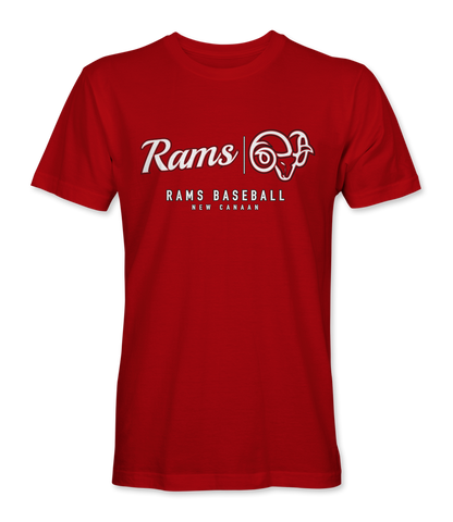 M's Casual Vintage T's - Rams Banner