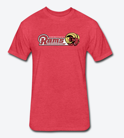 CT Rams - M's Casual T-Shirt